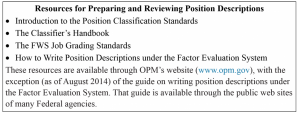 Resources for Preparing and Reviewing PDs
